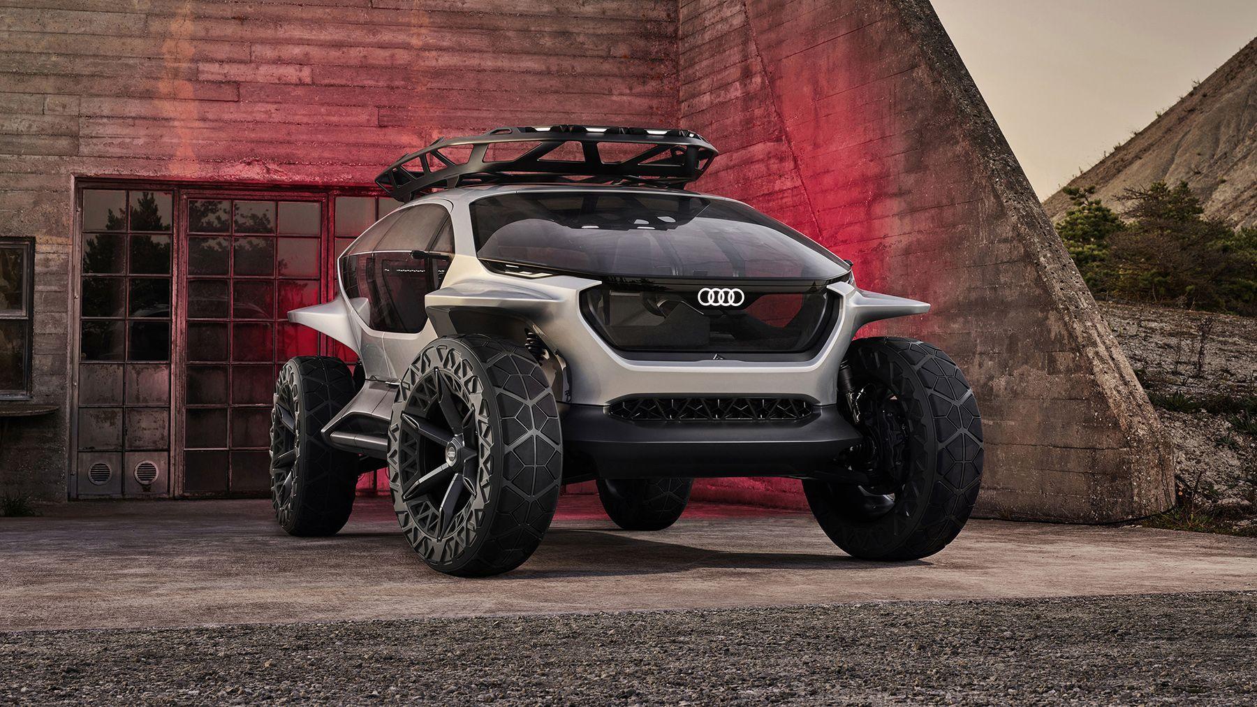 2019 Audi Ai Trail Quattro Concept Debuts At Frankfurt Motor Show Electric Off Road Concept Car Photos And Specs