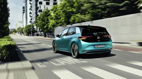 The ID.3 kicks off Volkswagen's range of electric cars.