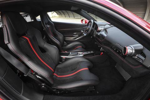 Ferrari F8 interior