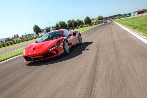 Ferrari lists 720 CV, or cavallino, which is 710 SAE hp.