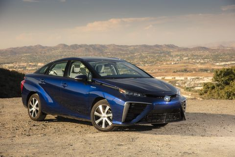 one year driving the toyota mirai hydrogen fuel cell vehicle begins now