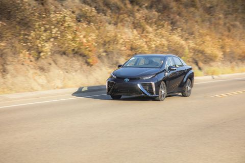 One year driving the Toyota Mirai hydrogen fuel cell vehicle begins now!