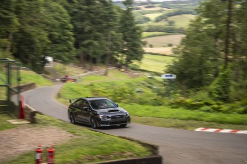 Hill climbs have been run on the Shelsley Walsh course, located in England's Midlands, since 1905. We experienced the historic venue in a fleet of 2019 Subaru WRX STIs -- all told, a good car for a newbie unfamiliar with the deceptively complex hill.