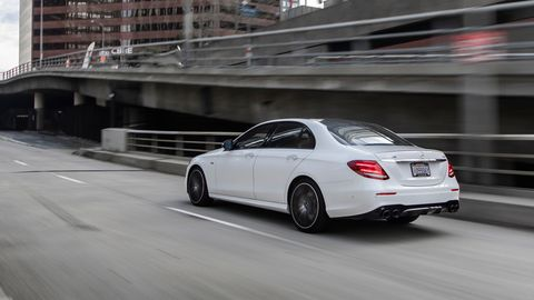 The 2019 Mercedes-AMG E53 comes with a new 3.0-liter turbocharged inline six making 429 hp.