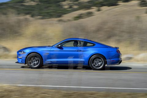 Take a look at the 2020 Ford Mustang High Performance Package coupe powered by a 2.3-liter turbocharged inline-four engine.