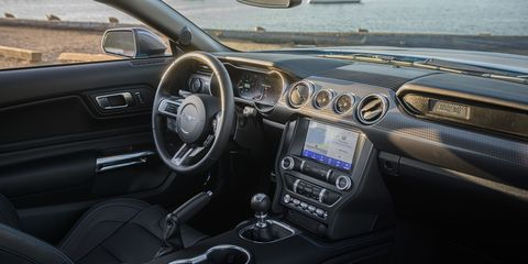 See the inside of the 2020 Ford Mustang High Performance Package
