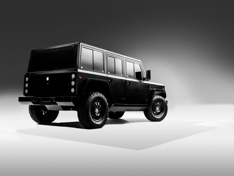Bollinger Motors has revealed its B1 SUV and B2 pickup truck. Both trucks pack two electric motors for a total system output of 614 hp and 668 lb-ft of toruqe; range is an estimated 200 miles.