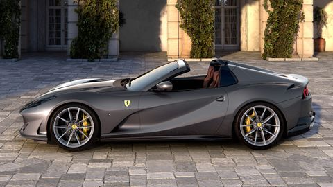The Ferrari 812 GTS is based on the 812 Superfast.