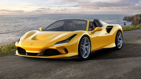 The Ferrari F8 Spider is based on the F8 Tributo and is the successor to the 488 Spider.