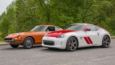 Land vehicle, Vehicle, Car, Sports car, Nissan 370z, Datsun/nissan z-car, Performance car, Automotive design, Sedan, Nissan,