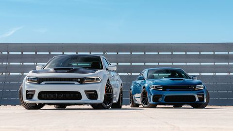 The 2020 Dodge Charger SRT Hellcat Widebody comes with 707-hp while the Daytona special edition adds ten more for a total of 717 hp.