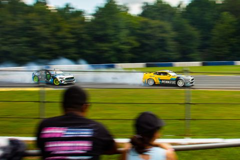 Gridlife South is full of high-horsepower drift machines and track-thrashing time attack cars.