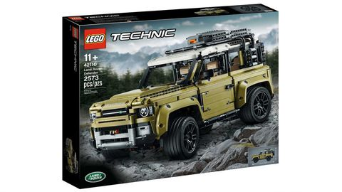 Vehicle, Off-road vehicle, Car, Land rover defender, Toy, Sport utility vehicle, Model car, Lego, Automotive tire, Land rover,