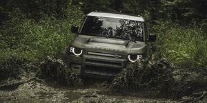 Land Rover revealed the latest-generation Defender at the 2019 Frankfurt motor show.
