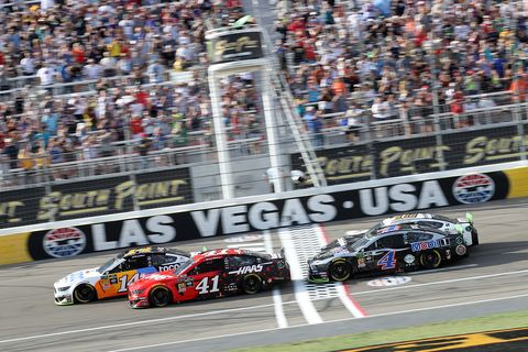 Sights from the NASCAR action at Las Vegas Motor Speedway, Sunday Sept. 15, 2019