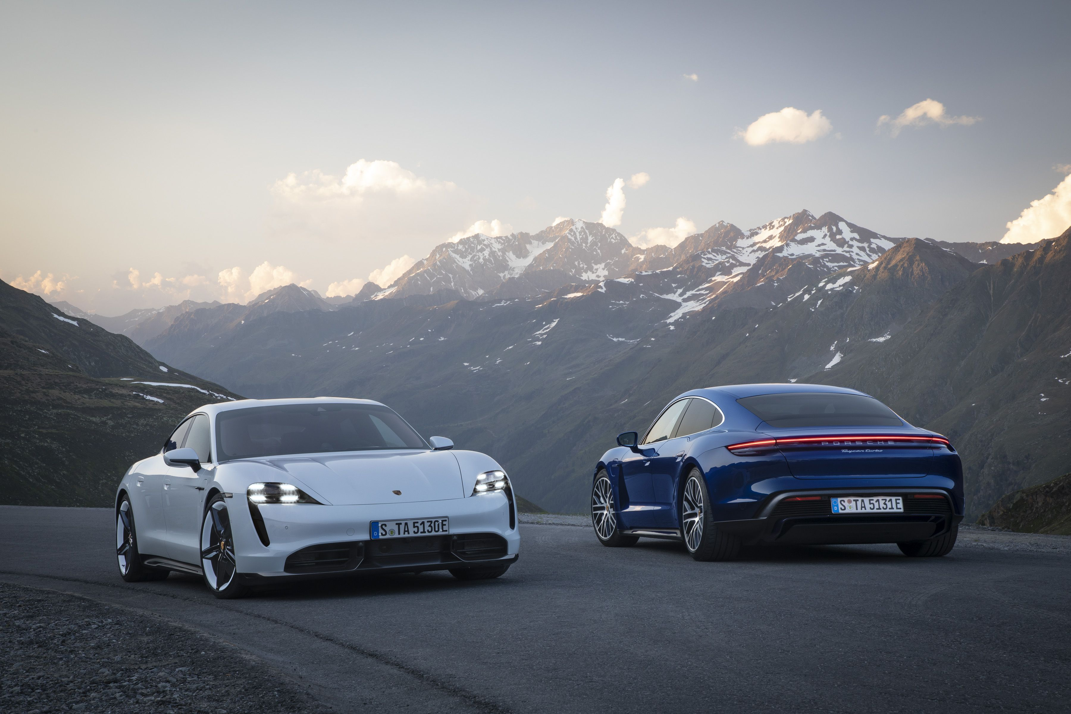 Porsche Taycan Specifications Acceleration Speed And Range Revealed For Porsche S First Ev
