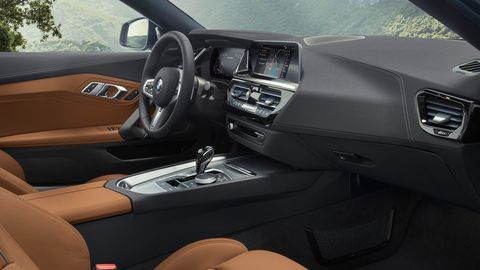 The 2020 BMW Z4 was co-developed with Toyota, both interiors look like a BMW.