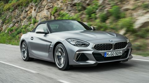 The 2020 BMW Z4 sDrive gets a 382-hp turbocharged I6.
