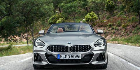 The 2020 BMW Z4 sDrive gets a 382-hp turbocharged I6.