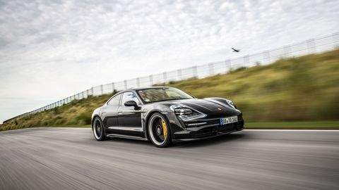 A short ride in a camouflaged Porsche Taycan -- disguises included fake tailpipes -- was enough to drive home the point: Porsche first electric vehicle is one we should all be taking seriously.