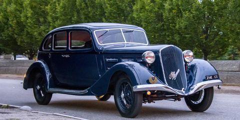 1934 Alfa Romeo 6C 2300 Soffio de Satana