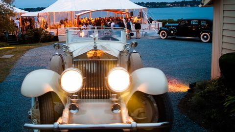 Audrain's Newport Concours & Motor Week kicks off a new tradition this year.