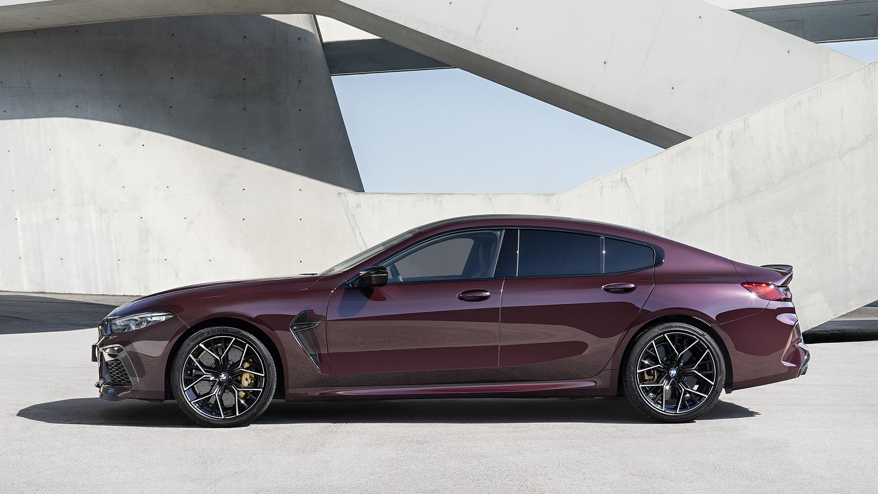 2020 Bmw M8 Gran Coupe Photos Performance Specs And Pricing