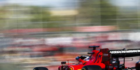 Sights from the F1 Japanese Grand Prix Saturday, October 12, 2019.