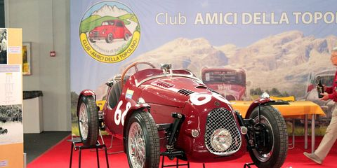 Auto Moto d'Epoca is one of the greatest vintage gatherings in Europe