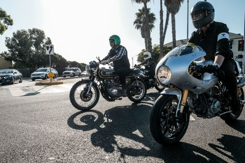 The Distinguished Gentlemen's Ride is a fun way to raise money for good causes