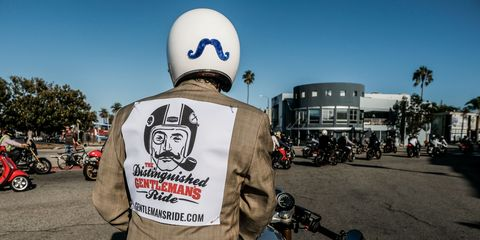 The Distinguished Gentlemen's Ride is afun way to raise money for good causes