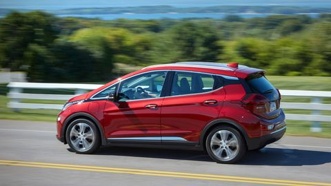 An improved battery bumps range to 259 miles in the2020 Chevrolet Bolt electric car