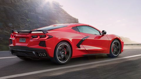 The 2020 C8 Chevy Corvette will be offered in hardtop and convertible form.