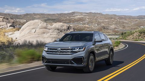 Volkswagen is releasing a more stylish variant of its Atlas crossover dubbed the Atlas Cross Sport.