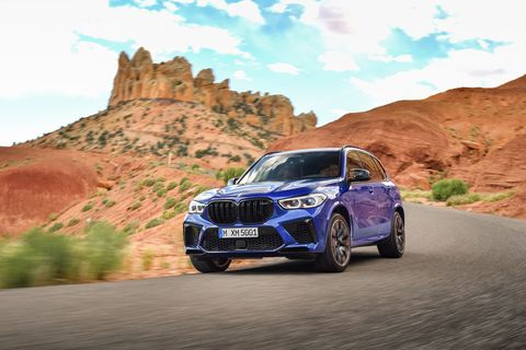 Take a look at the 2020 BMW X5 M and X5 M Competition