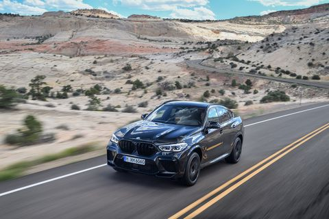 Take a look at the 2020 BMW X6 M and X6 M Competition