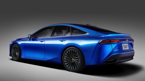 The 2021 Toyota Mirai will make its public debut at the Tokyo Motor show.