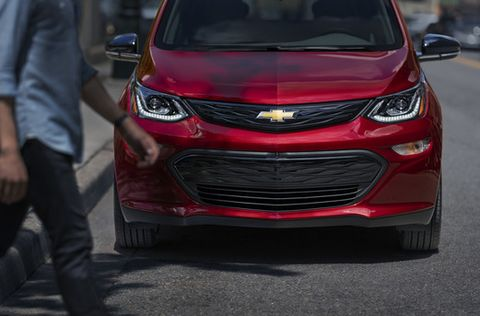 The Bolt gets a new grille, too.