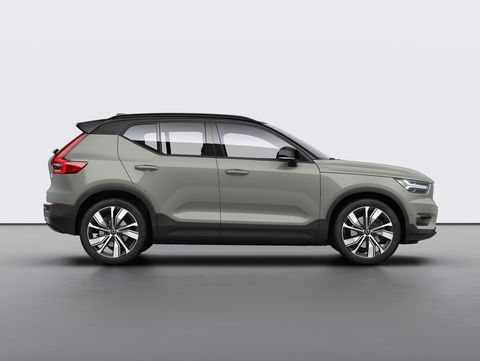 It's Volvo's first fully electric vehicle.