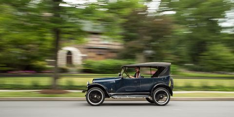 This 1922 Franklin Series 10-A 5-passenger touring is owned by Matt Goist, a young Scranton, Pennsylvania-area restorer.