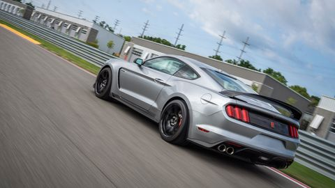 The 2020 Ford Shelby GT350R comes with a 5.2-liter flat-plane crank V8 making 526 hp.