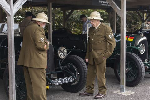 The Goodwood Revival isn't just vintage racing or a car show or an excuse to get dressed up in vaguely period-appropriate clothes: It's immersive automotive storytelling on a grand scale.
