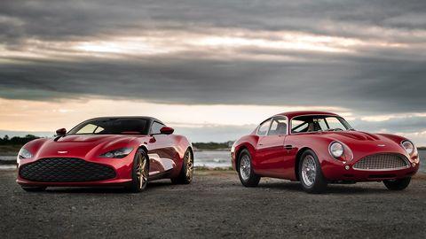 Land vehicle, Vehicle, Car, Automotive design, Sports car, Coupé, Performance car, Aston martin db4 gt zagato, Classic car, Supercar,