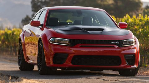 The 2020 Dodge Charger Widebody comes in both Hellcat and Scat Pack grades.