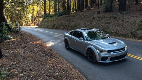 The 2020 Dodge Charger Scat Pack Widebody is still plenty of power for the street.