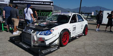 JC Meynet's 2006 WRX STihas made 750 hp at the wheels, all four of them.