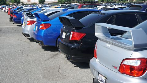 Hundreds of your favorite high-performance awd cars come out in sunny SoCalforSubiefest California 2019