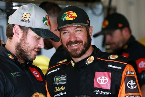 Sights from the NASCAR action at Talladega Superspeedway Friday, October 11