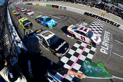 Sights from the NASCAR action at Martinsville Speedway, Sunday Oct. 27, 2019.