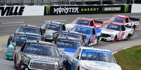 Sights from the NASCAR action at Martinsville Speedway, Saturday Oct. 26, 2019.